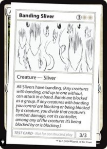 Banding Sliver - Mystery Booster
