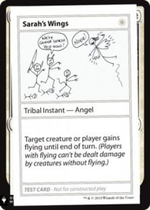 Sarah's Wings - Mystery Booster