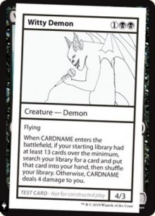 Witty Demon - Mystery Booster