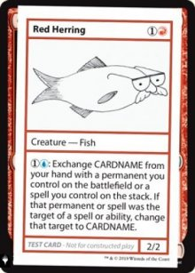 Red Herring - Mystery Booster