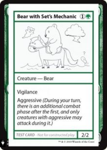 Bear with Set's Mechanic - Mystery Booster