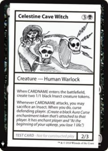 Celestine Cave Witch - Mystery Booster