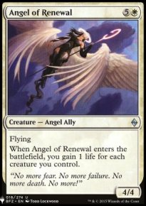 Angel of Renewal - Mystery Booster