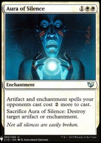 Aura of Silence - Mystery Booster