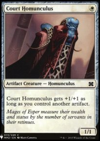 Court Homunculus - Mystery Booster