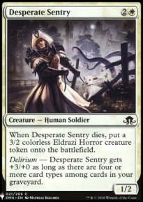 Desperate Sentry - Mystery Booster
