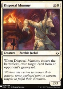 Disposal Mummy - Mystery Booster