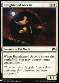 Enlightened Ascetic - Mystery Booster