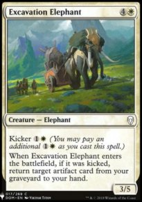 Excavation Elephant - Mystery Booster
