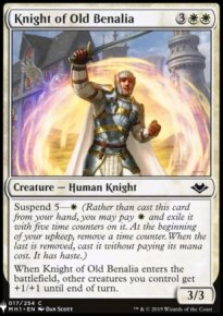 Knight of Old Benalia - Mystery Booster