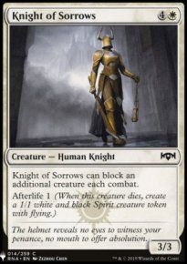 Knight of Sorrows - Mystery Booster