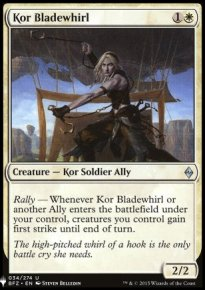 Kor Bladewhirl - Mystery Booster