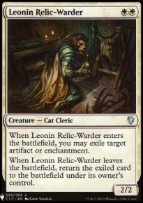 Leonin Relic-Warder - Mystery Booster