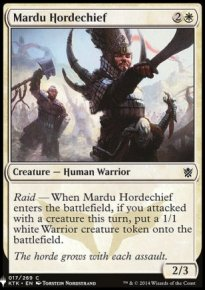 Mardu Hordechief - Mystery Booster