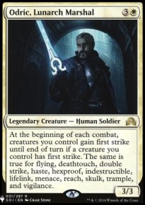 Odric, Lunarch Marshal - Mystery Booster