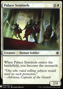 Palace Sentinels - Mystery Booster