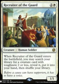 Recruiter of the Guard - Mystery Booster