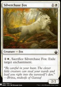 Silverchase Fox - Mystery Booster