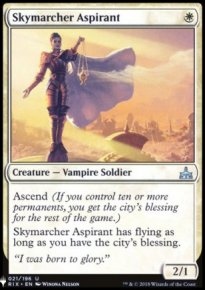 Skymarcher Aspirant - Mystery Booster