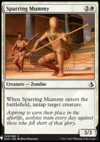 Sparring Mummy - Mystery Booster