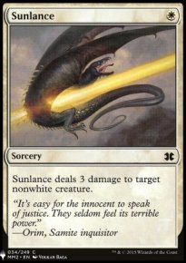 Sunlance - Mystery Booster