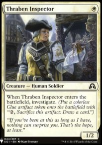 Thraben Inspector - Mystery Booster