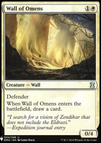 Wall of Omens - Mystery Booster