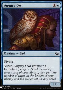 Augury Owl - Mystery Booster