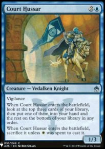 Court Hussar - Mystery Booster