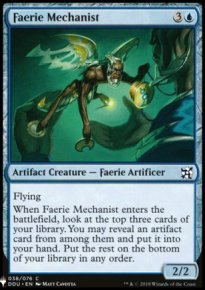 Faerie Mechanist - Mystery Booster