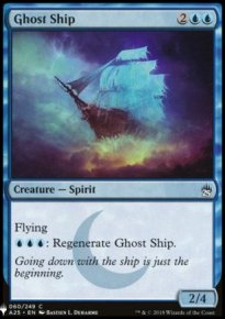 Ghost Ship - Mystery Booster