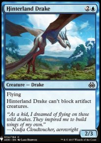 Hinterland Drake - Mystery Booster