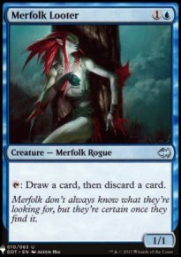 Merfolk Looter - Mystery Booster
