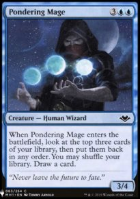 Pondering Mage - Mystery Booster