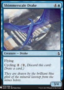 Shimmerscale Drake - Mystery Booster