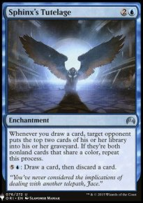 Sphinx's Tutelage - Mystery Booster