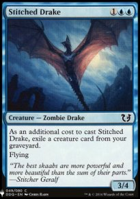 Stitched Drake - Mystery Booster