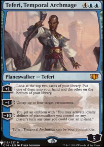 Teferi, Temporal Archmage - Mystery Booster