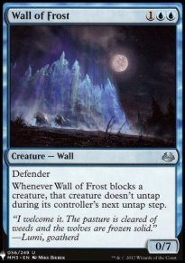 Wall of Frost - Mystery Booster