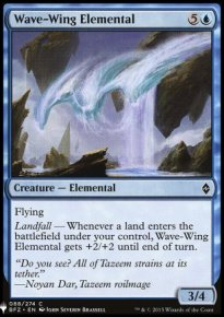 Wave-Wing Elemental - Mystery Booster