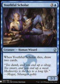 Youthful Scholar - Mystery Booster