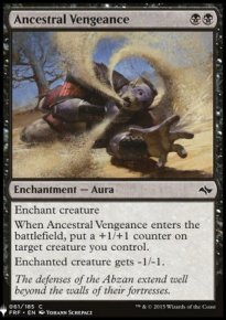 Ancestral Vengeance - Mystery Booster