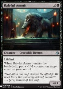 Baleful Ammit - Mystery Booster