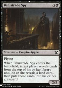 Balustrade Spy - Mystery Booster