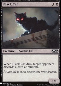 Black Cat - Mystery Booster