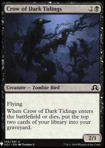 Crow of Dark Tidings - Mystery Booster
