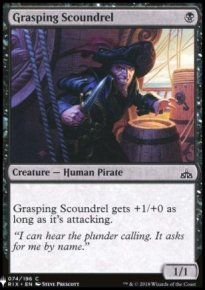 Grasping Scoundrel - Mystery Booster