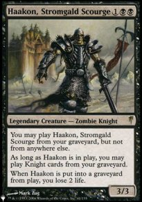Haakon, Stromgald Scourge - Mystery Booster
