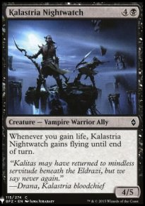 Kalastria Nightwatch - Mystery Booster