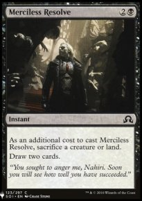 Merciless Resolve - Mystery Booster